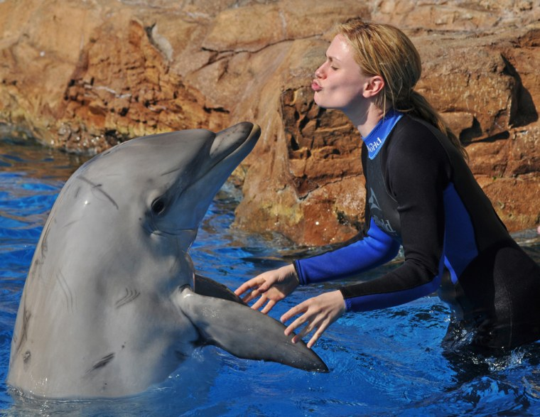 Image: Anna Paquin at Sea World In San Diego