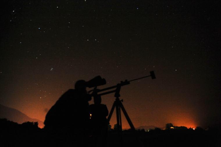 Image: Perseid meteor shower