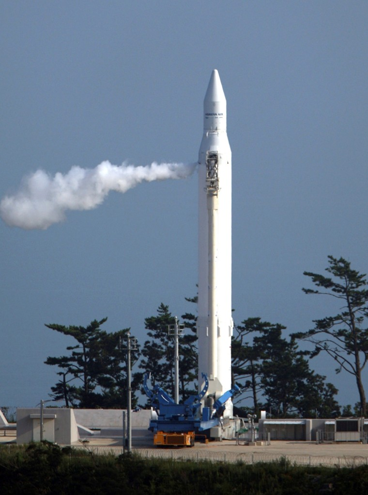 Image: The Korea Space Launch Vehicle-1