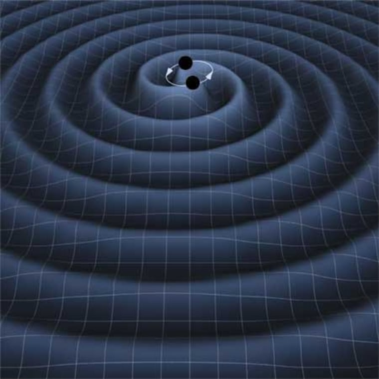 Image: Gravitational waves