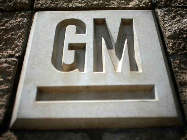 Image: The GM logo