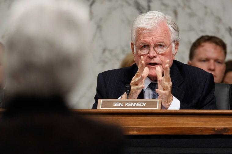 Image: Senator Edward Kennedy