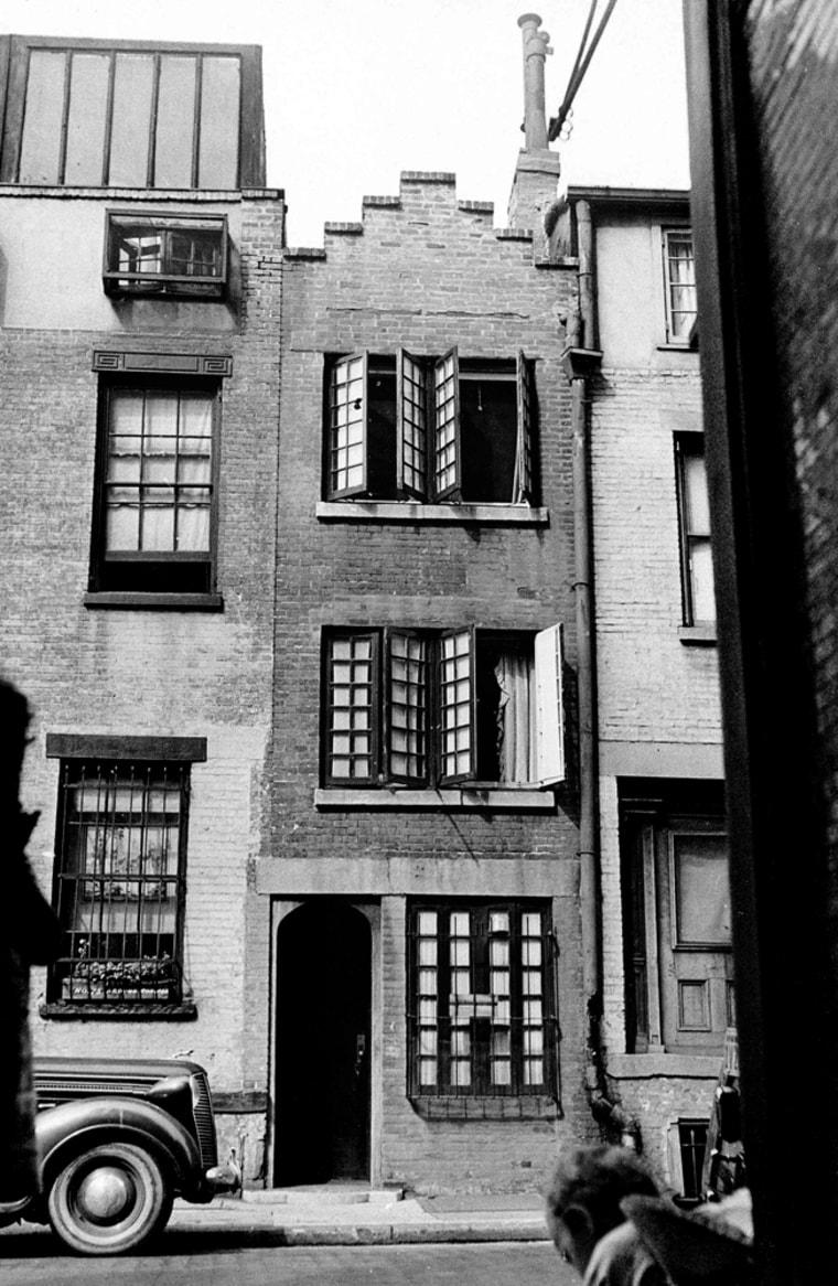 Image: Skinniest house in Manhattan
