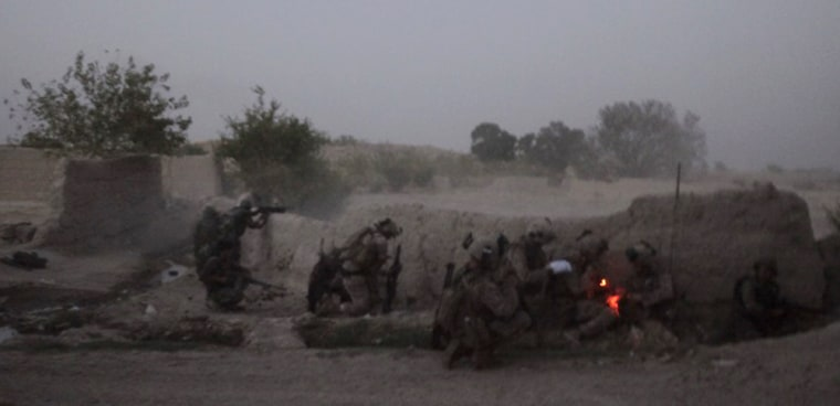 Image: U.S and Afghan forces battle Taliban fighters in Afghanistan