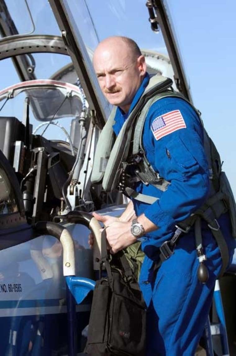 Image: Astronaut Mark Kelly