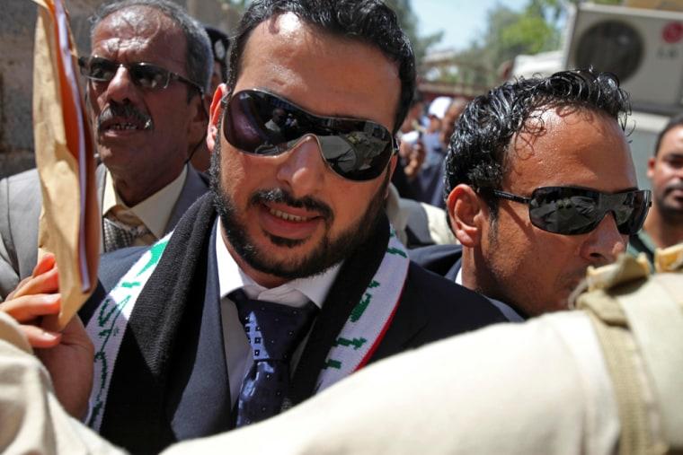 Image: Muntadhar al-Zeidi released from prison