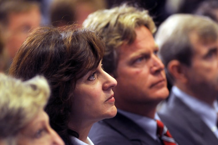 Image: Victoria and Ted Kennedy Jr. at press conference