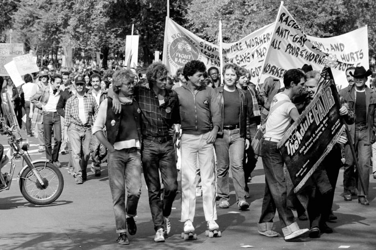Image: Gay Rights March, 1979