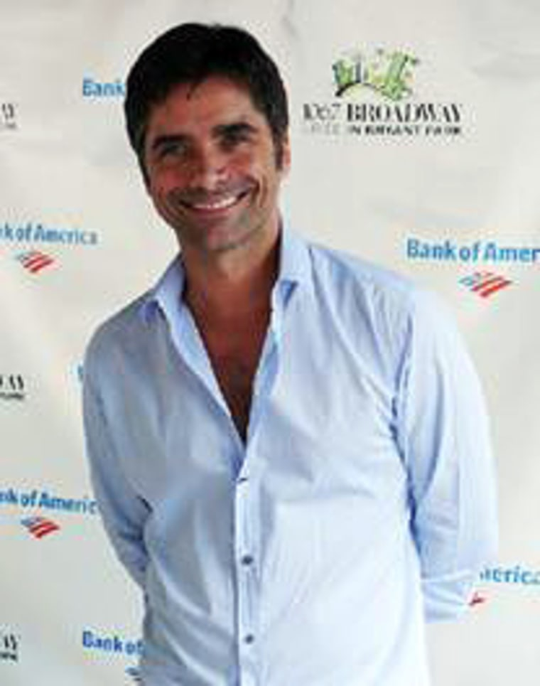John Stamos is trying to raise public awareness of the problem of babies in danger of abandonment.