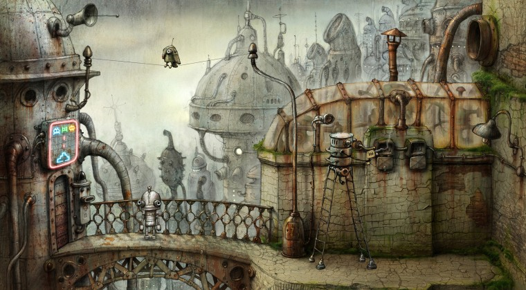 "With its stunning art work and enchanting puzzles, the new game ""Machinarium"" — created by a small team from the Czech Republic — could be this holiday's gaming sleeper hit. But with the onslaught of big-budget titles launching during the winter months, great indie games can get lost in the shuffle."