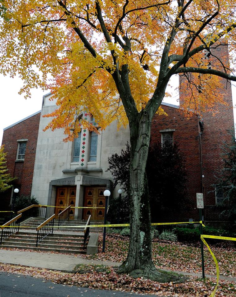 Image: Police investigate death of priest