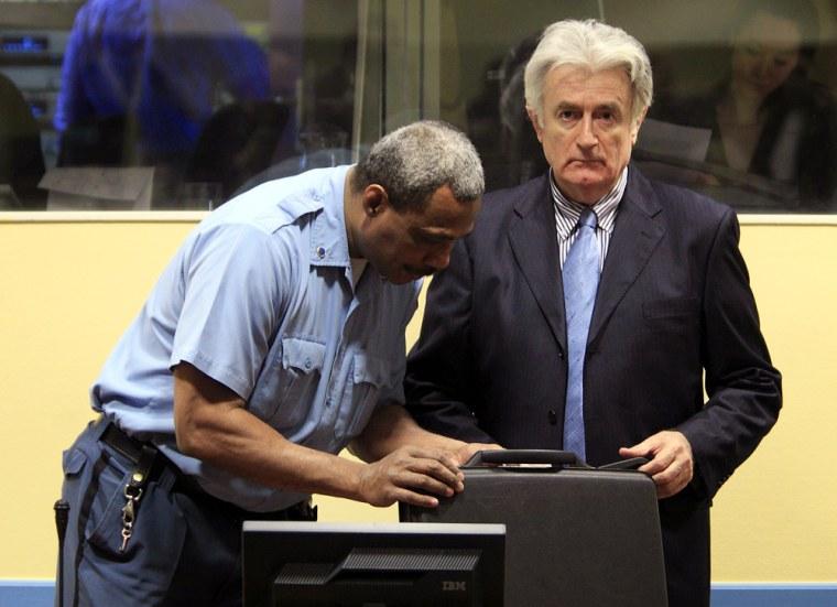 Image: Radovan Karadzic