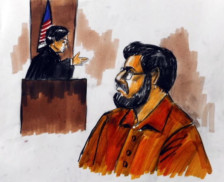 Image: Detention hearing for Tahawwur Hussain Rana