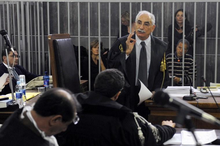 Image: Italian prosecutor Armando Spataro