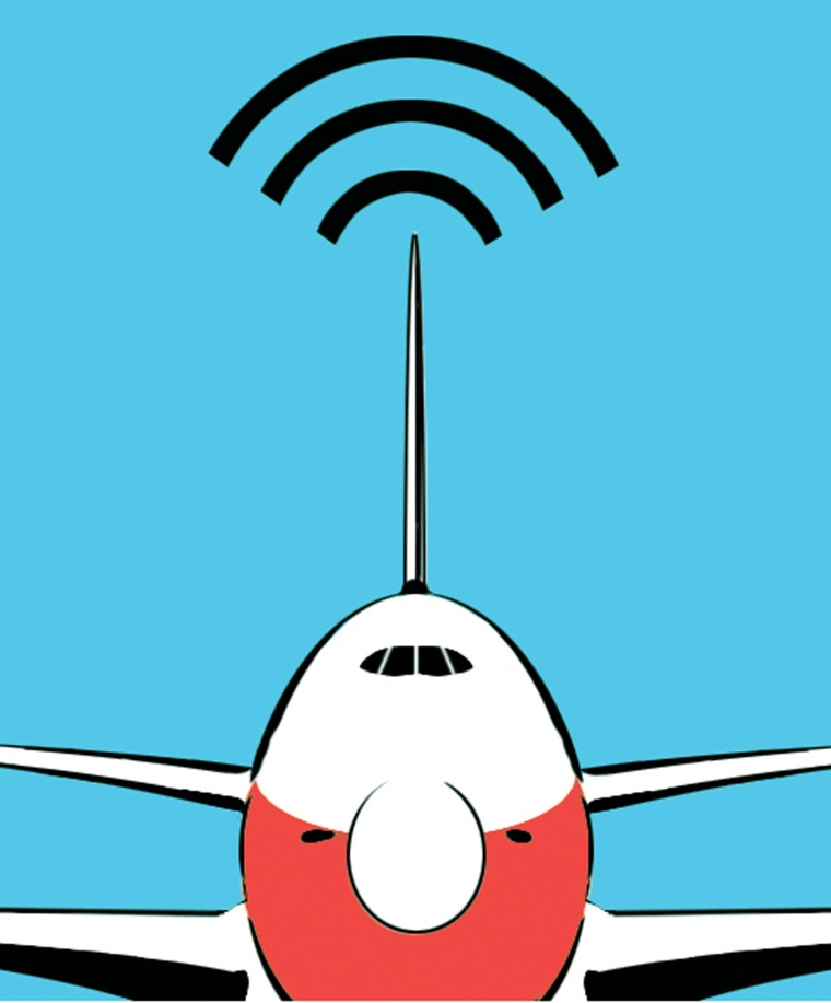 Several airlines with Wi-Fi-equipped airplanes are letting passengers try out the service for free.