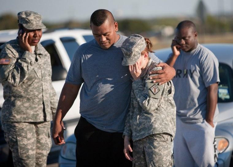 Image: Twelve Dead In Mass Shooting At Fort Hood