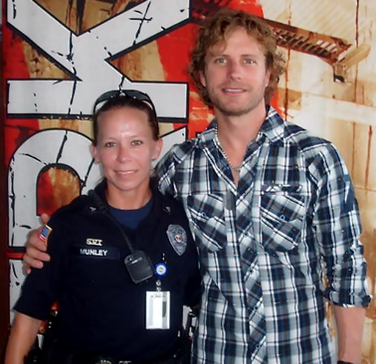 Image: Kimberly Munley with Dierks Bentley