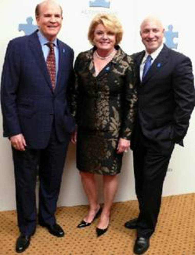 Image: Bob and Suzanne Wright with Tom Colicchio