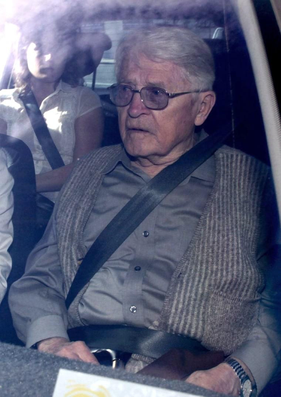 Image: Alleged Nazi war criminal Charles Zentai