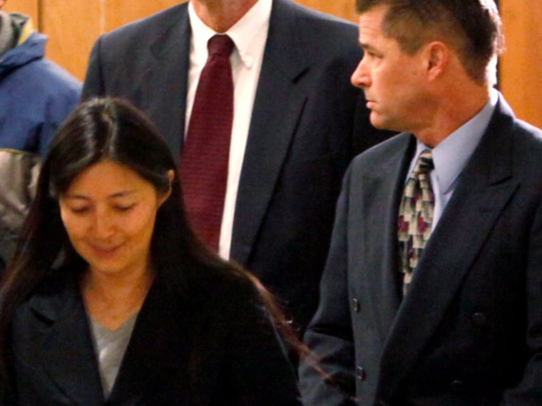 Image: Richard and Mayumi Heene arrive at Larimer County district court in Fort Collins