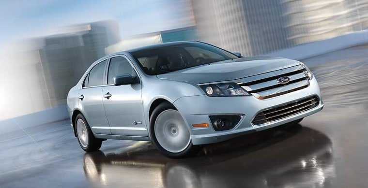 Image: 2010 Ford Fusion