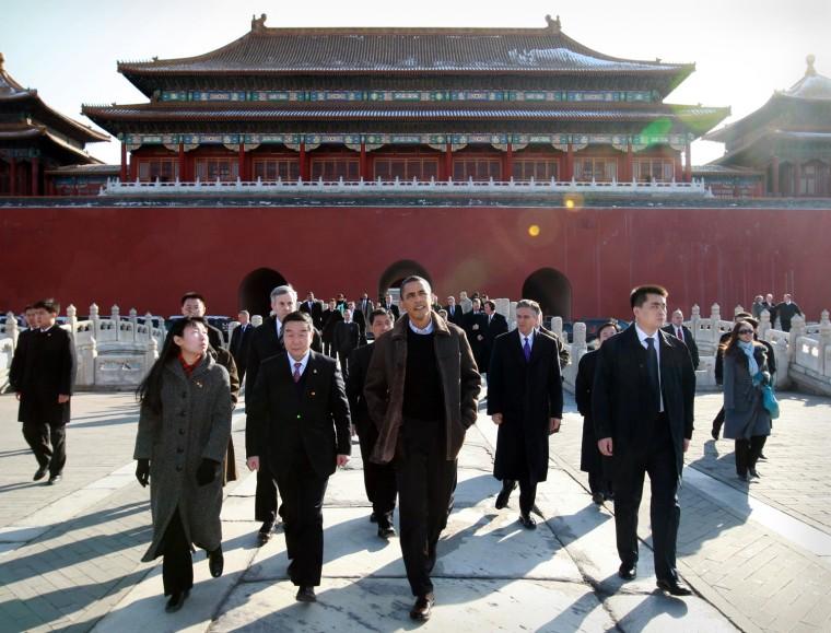 Image: Xinhua Wire - November 16, 2009