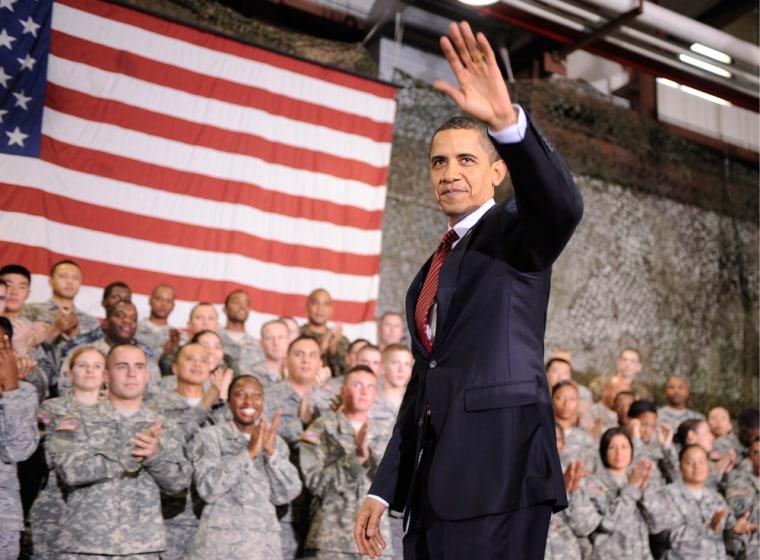 Image: President Obama in South Korea