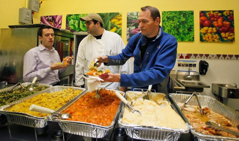 Image: Thanksgiving dinner
