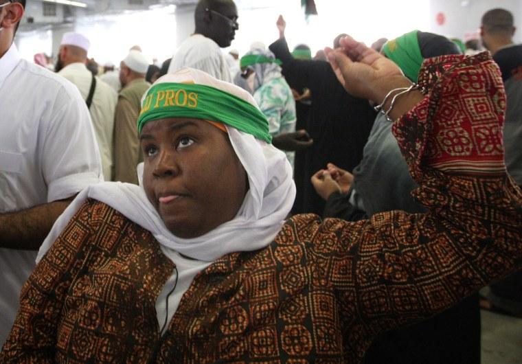 Image: Women at the hajj