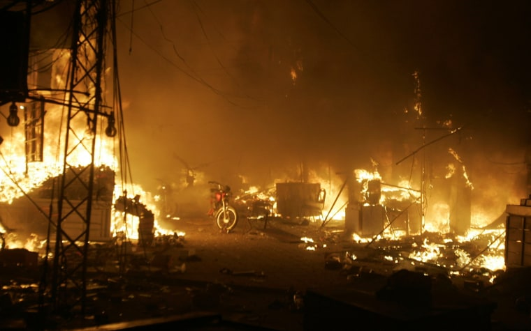 Image: Bombing in Lahore, Pakistan