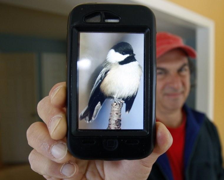 Image: BirdsEye iPhone app