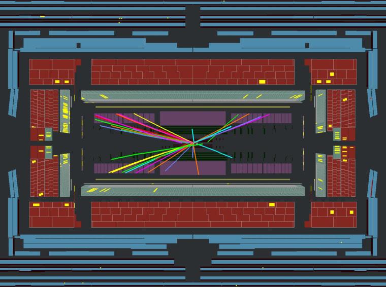 Image: ATLAS collision