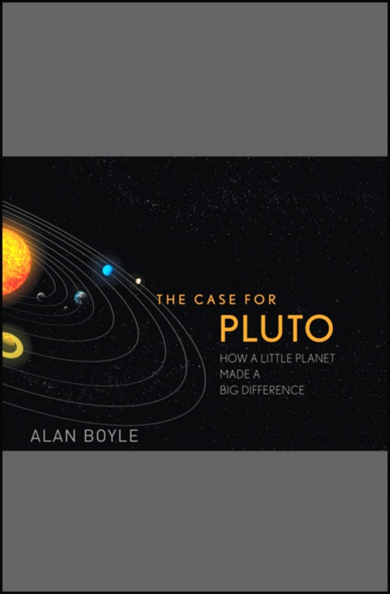 """Image: """"The Case for Pluto"""""""