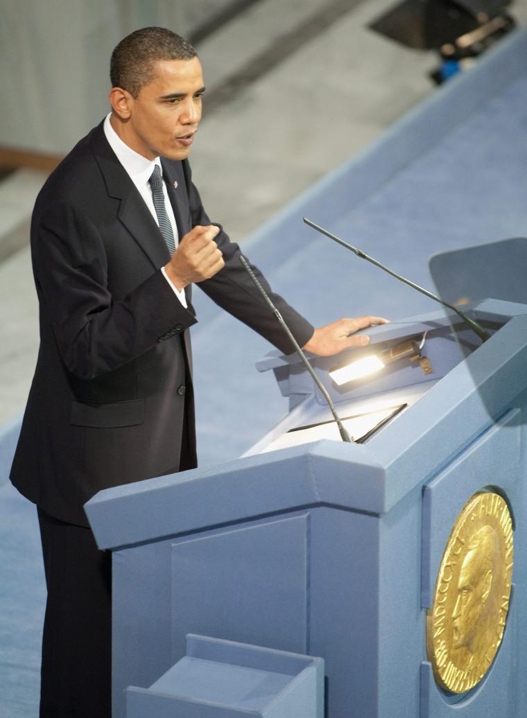 Image: Nobel Peace Prize - Press Conference