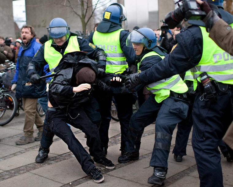Image: Police make arrests