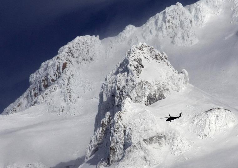 Image: Mt. Hood search