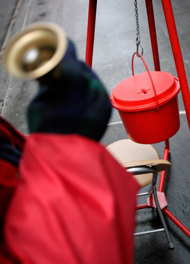 Image: Salvation Army solicits donations