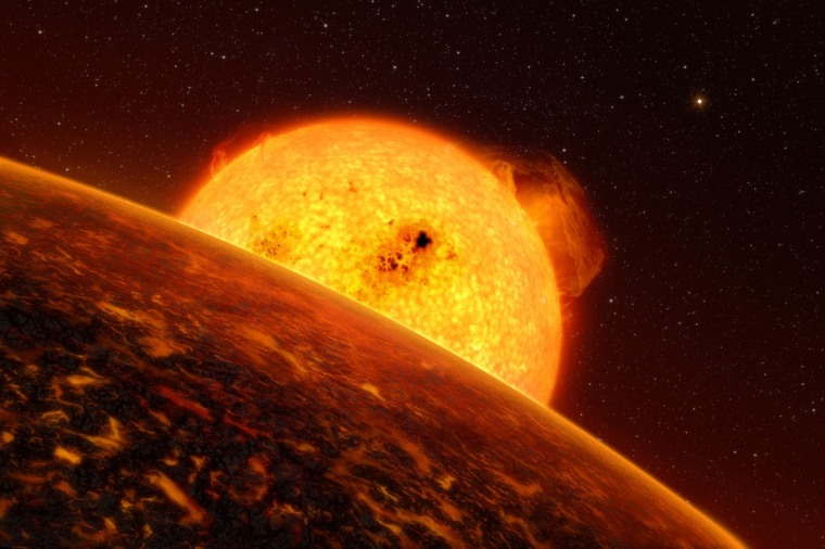 Image: SPACE-EXOPLANET-COROT-7B
