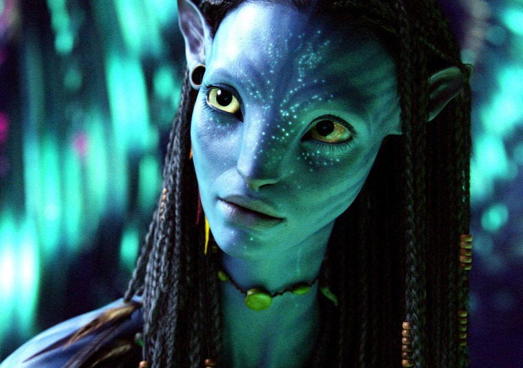 """Image: Zoe Saldana in \""""Avatar\"""""""