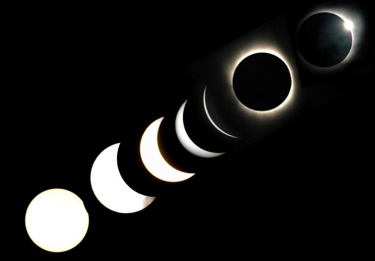 Image: July eclipse