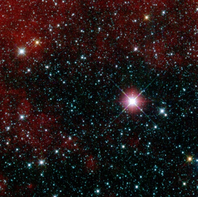 Image: Region in the constellation Carina