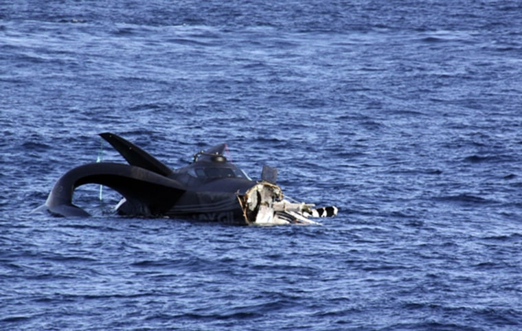 Image: Anti-whaling vessel Ady Gil is seen adrift