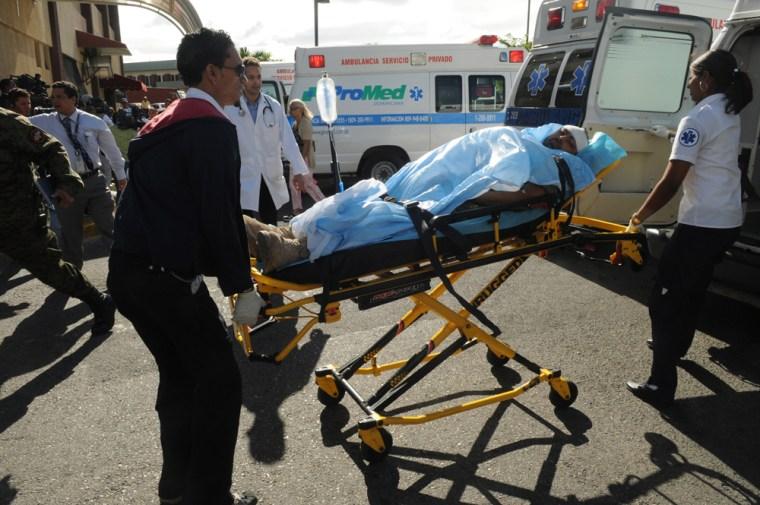 Image: Haiti earthquake victim