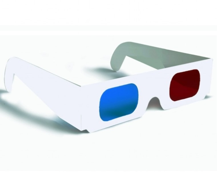 Image: 3-D glasses