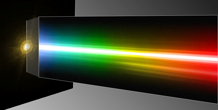 Image: Star and spectrum