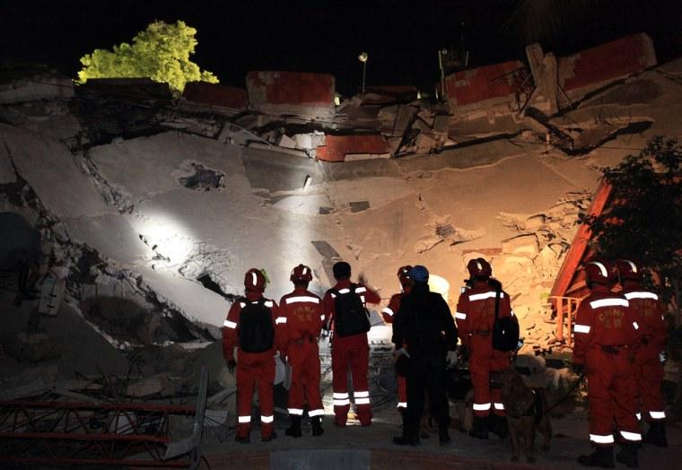 Image: Collapsed headquarters of the U.N. in Port-au-Prince, Haiti