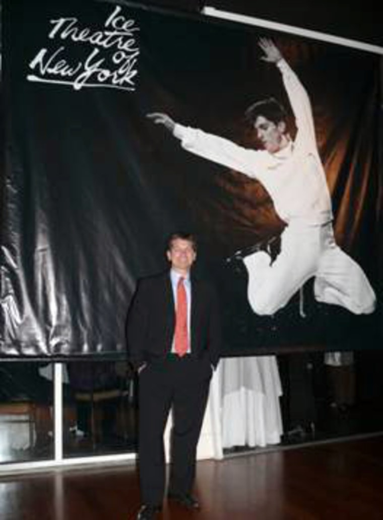 Paul Wylie at the Ice Theatre of New York's annual benefit gala, where he was honored, on Oct. 26.