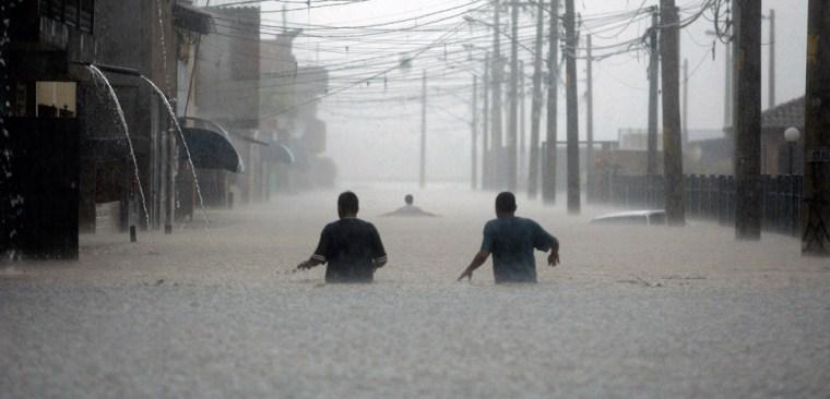Image: Flooding in Sao Paulo