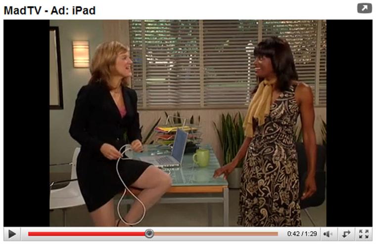 Image: Mad TV Ad: iPad