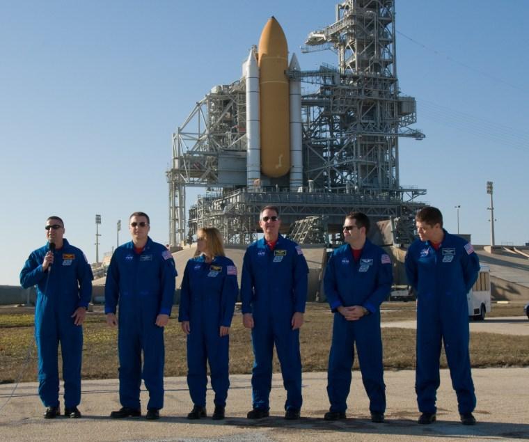 Image: Crew at pad